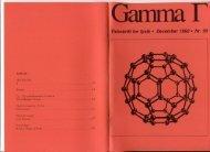 i Garnma F - Gamma