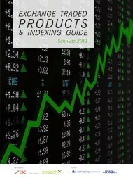 Exchange Traded Products & Indexing Guide Schweiz 2013