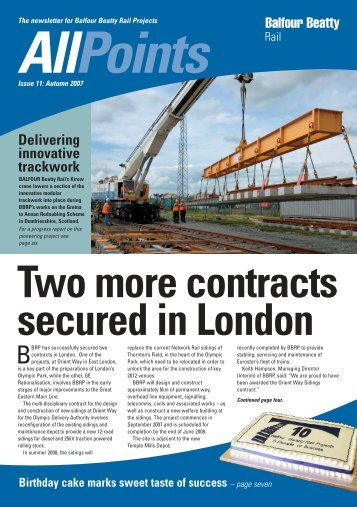 Allpoints - Balfour Beatty Rail