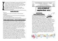 Nieuwsbrief september 2012 - Vrije basisschool Balegem