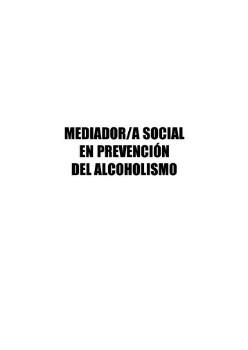 Curso MEDIADOR/A SOCIAL EN PREVENCIÓN DEL ALCOHOLISMO