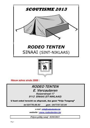 Dowload hier - Rodeo-Tenten