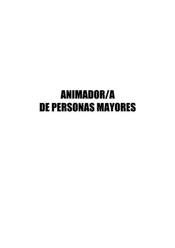 Curso ANIMADOR/A DE PERSONAS MAYORES