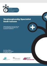 De Verpleegkundig Specialist biedt kansen ... - IQ healthcare