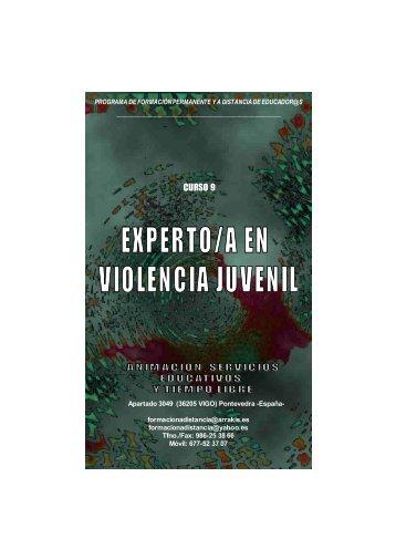 Manual del Curso Experto en Violencia Juvenil
