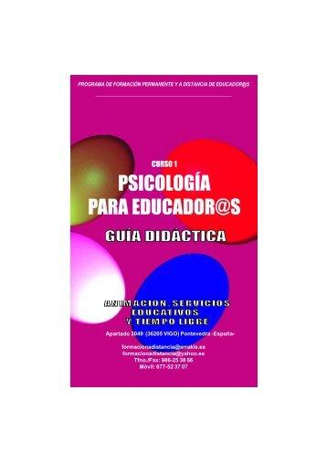 Guia Didactica curso Psicologia para Educadores-as
