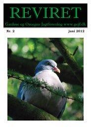 Reviret juni 2012 - Ganløse og Omegns Jagtforening