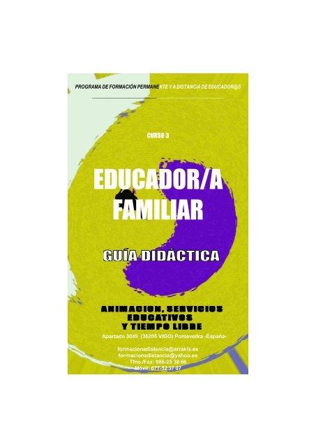 Guia Didactica curso Educador Familiar