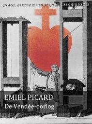 Emiel Picard (pdf) - Jonge Historici Schrijven Geschiedenis