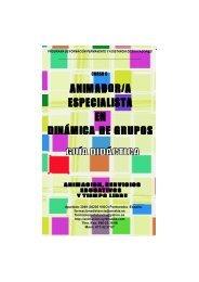 Guia Didactica curso Animador en Dinamica de Grupos