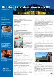 Det sker i Brønden i november 09 - Brøndby Bibliotekerne