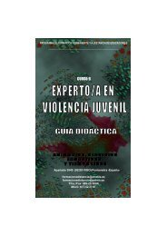 Curso Experto Violencia Juvenil. Guia Didactica