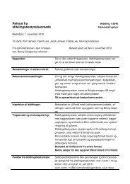 01.11.2010 Referat fra afdelingsbestyrelsesmøde - Boligforeningen 3B