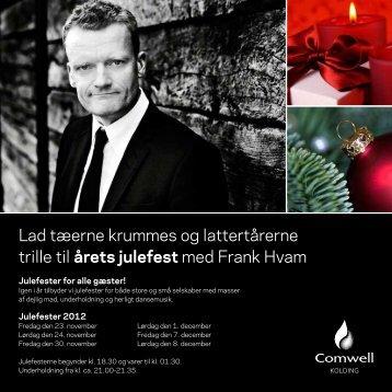For at se årets julebrochure - tryk her - Comwell Kolding