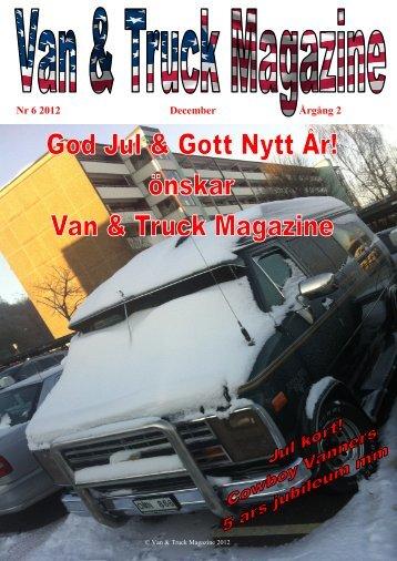 Nr 6 2012 December Årgång 2 - cowboy Vanners
