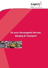 Bedrijfsbrochure Logicx Mobiliteit BV - EVO
