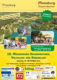 10. Moosburger HalbMaratHon, Volkslauf und ... - Walk and Run