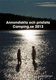 Ladda ner annonsfakta och prislista för 2013 - Camping.se