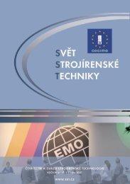 Svět strojírenské techniky číslo 3/2007 (PDF, 4.77 MB) - Svaz ...