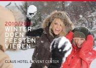WINTER DOEN FEESTEN VIEREN - Claus Event Center