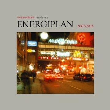 Energiplan för Västerås stad (pdf - 516 kB)