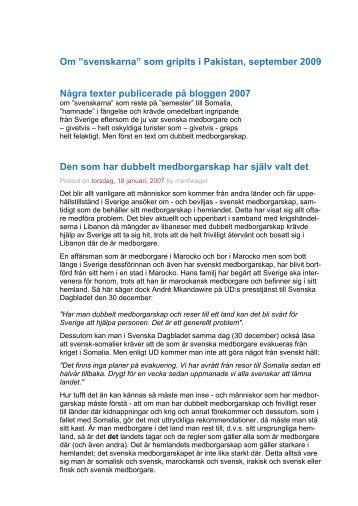 Det överdrivet blåögda Sverige - Merit Wager