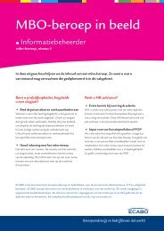 Informatiebeheerder (niveau 4) - Ecabo