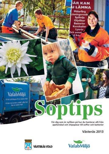 Soptips 2013 - Västerås stad