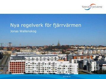Nya regelverk för fjärrvärmen - Svensk energi