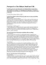 Norrgavel vs Clas Ohlson i duell om CSR - Anne Nilsson