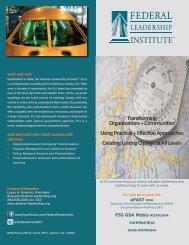 FLI eFast 1 BROCHUREv3.pdf - Federal Leadership Institute