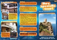 info flyer download - Ernie Tours - Home
