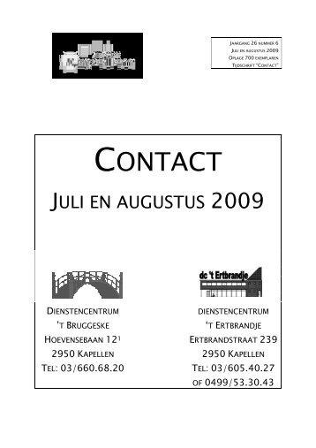 CONTACT ONTACT - Gemeente Kapellen