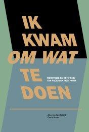 werkwijze en betekenis van vadercentrum adam - Haagse Vaders .NL