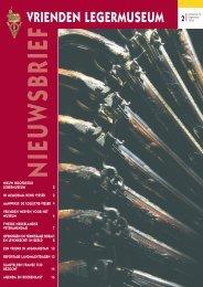64887-Nieuwsbrf 2.indd - Vrienden van het Legermuseum