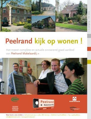 Peelrand kijk op wonen !