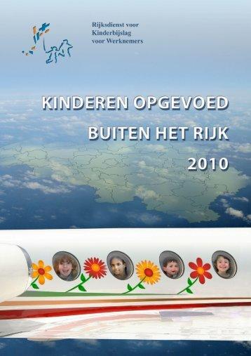 EEN laag Buiten het rijk opgevoede kinderen 2010.tif - rkw