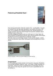 Fiskeriet på Roskilde Fjord - Roskilde Museum