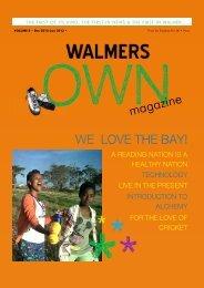 Walmers Own Edition 8 - Masifunde Learner Development