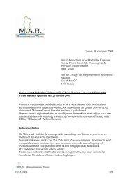 Advies kleinstedelijk gebied - Stad Tienen