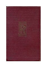 Part 1 - Rolls-Royce Owners' Club of Australia