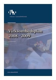 Virksomhedsplan 2008 - 2009 - Odense Centralbibliotek