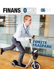 Last ned Finansfokus 06/11 som PDF - Finansforbundet