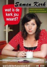 Samen Kerk uitgave 2012-1 KerkBalans - Dekenaat Venray
