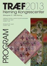 Træf 2013 - Dansk Patchwork Forening