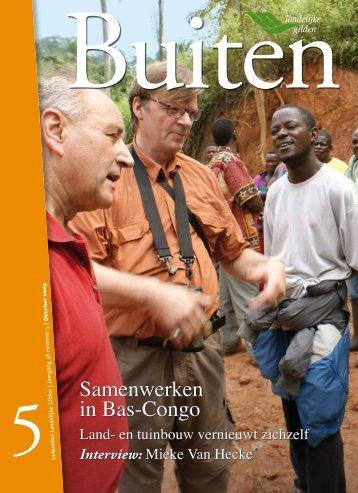 Samenwerken in Bas-Congo - Landelijke Gilden