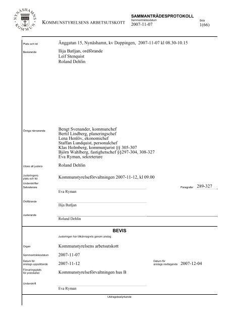Protokoll Au 20071107.pdf - Nynäshamns kommun