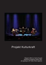 Rapport Projekt Kulturkraft