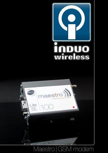 Maestro GSM/GPRS modem samlingsbroschyr - Maestro 100 GSM ...