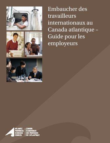 Embaucher des travailleurs internationaux au Canada atlantique ...